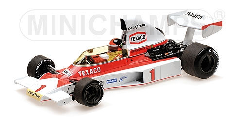 1:18 MCLAREN FORD M23 - 'TEXACO' - EMERSON FITTIPALDI - 1975