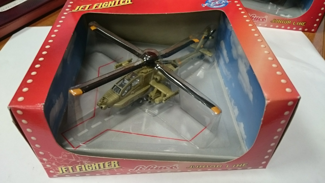 1:100 AH-65 APACHE HELICOP GREEN