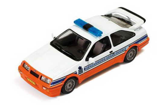 1:43 FORD SIERRA COSWORTH GENDARMERIE GRAND-DUCALE ( LUXEMBOURG ) 1988