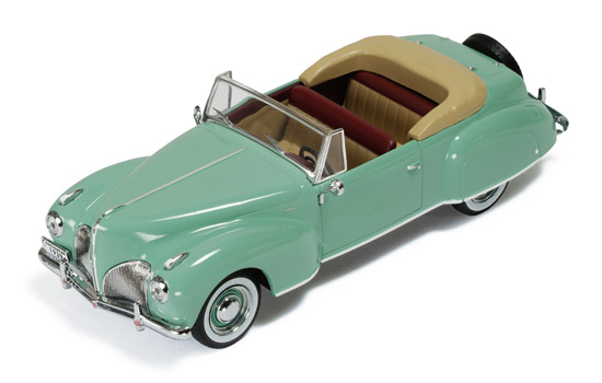 1:43 LINCOLN CONTINENTAL 1939 GREEN / BEIGE INTERIOR