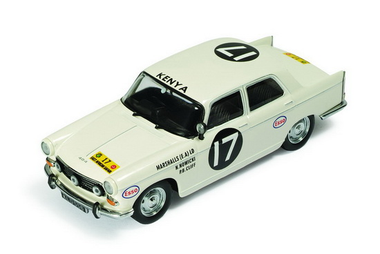 1:43 PEUGEOT 404 NO17 WINNER RALLY SAFARI 1968 ABE / NOWICKY / CLIFF