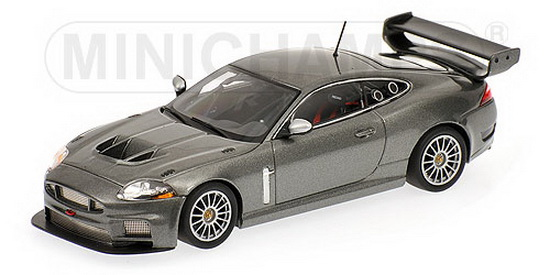 1:43 JAGUAR XKR GT3 2008 GREY METALLIC