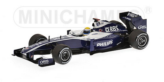 1:43 WILLIAMS TOYOTA FW31 2009 N.ROSBERG