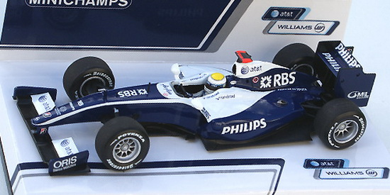 1:43 WILLIAMS TOYOTA SHOWCAR 2009 N.ROSBERG