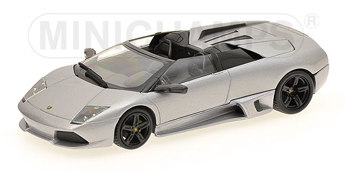 1:43 LAMBORGHINI MURCIELAGO LP 640 ROADSTER - 2007 - GREY METALLIC