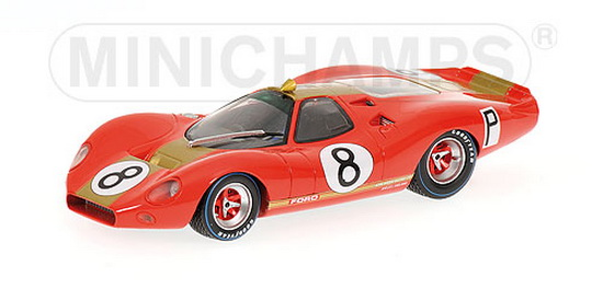 1:43 FORD P68 F3L NURBURGRING 1968 no8 IRWIN