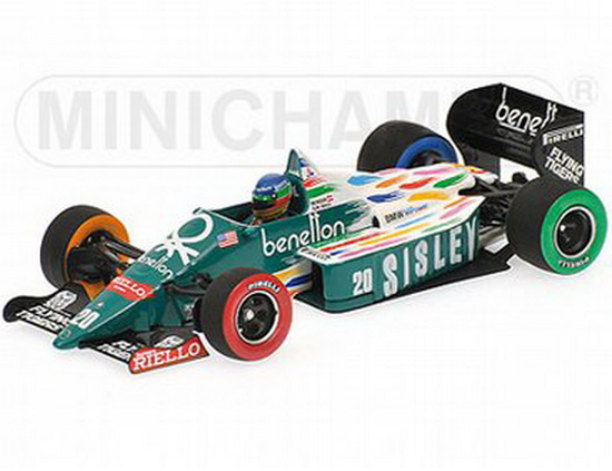 1:43 BENETTON FORD B 186 USA GP 1986 G.BERGER