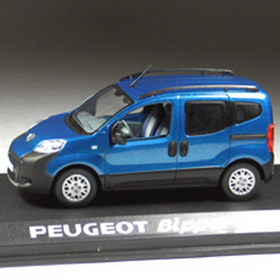 1:43 PEUGEOT BIPPER TEPEE OUTDOOR 2009 BLUE