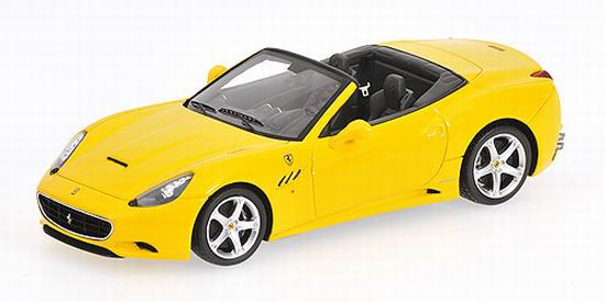 1:43 FERRARI CALIFORNIA 2008 YELLOW