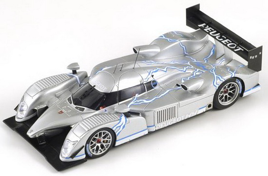 1:43 PEUGEOT 908 HYBRID 2008 CHROME BODY