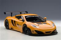 1.18 MCLAREN MP4-12C GT3 PRESENTATION CAR 2011 METALLIC ORANGE