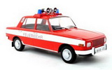 1:18 Wartburg 353, fire brigade, limited Edition 504 Piece hoods and doors closed 1:18