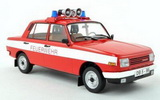 1:18 Wartburg 353W, fire brigade, exclusive, limited Edition 504 Piece hoods and doors closed 1:18