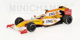 1:43 RENAULT F1 TEAM SHOWCAR 2009 CAR NO8 N.PIQUET