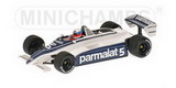 1:43 BRABHAM FORD BT 49C M.WINKELHOCK TEST PAUL RICARD DECEMBER 1981
