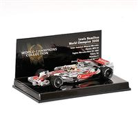 1:43 MCLAREN MERCEDES MP4/23 L HAMILTON WORLD CHAMPION 2008 BRAZIL GP