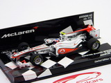 1:43 MCLAREN MERCEDES SHOWCAR 2011 J.BUTTON