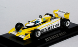 1:43 RENAULT RS11 GP FRANCE 1979 3rd PLACE R.ARNOUX